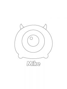Printable TSUM TSUM Mike Hi