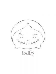 Printable TSUM TSUM Sally Hi