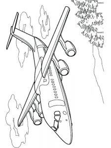 Propeller Plane Coloring Pages 1