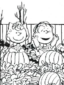 Pumpkin Art Coloring Pages