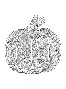 Pumpkin Coloring Pages Crayola
