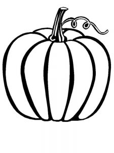 Pumpkin Coloring Pages Halloween