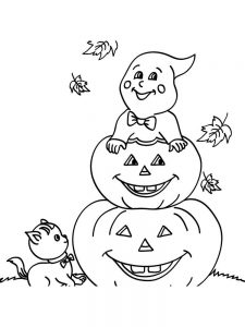 Pumpkin Coloring Pages Outline