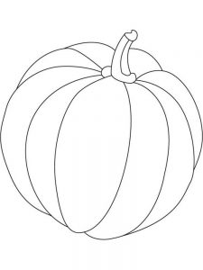 Pumpkin Coloring Pages To Print Free