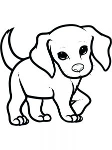 Puppy Coloring Pages Pdf