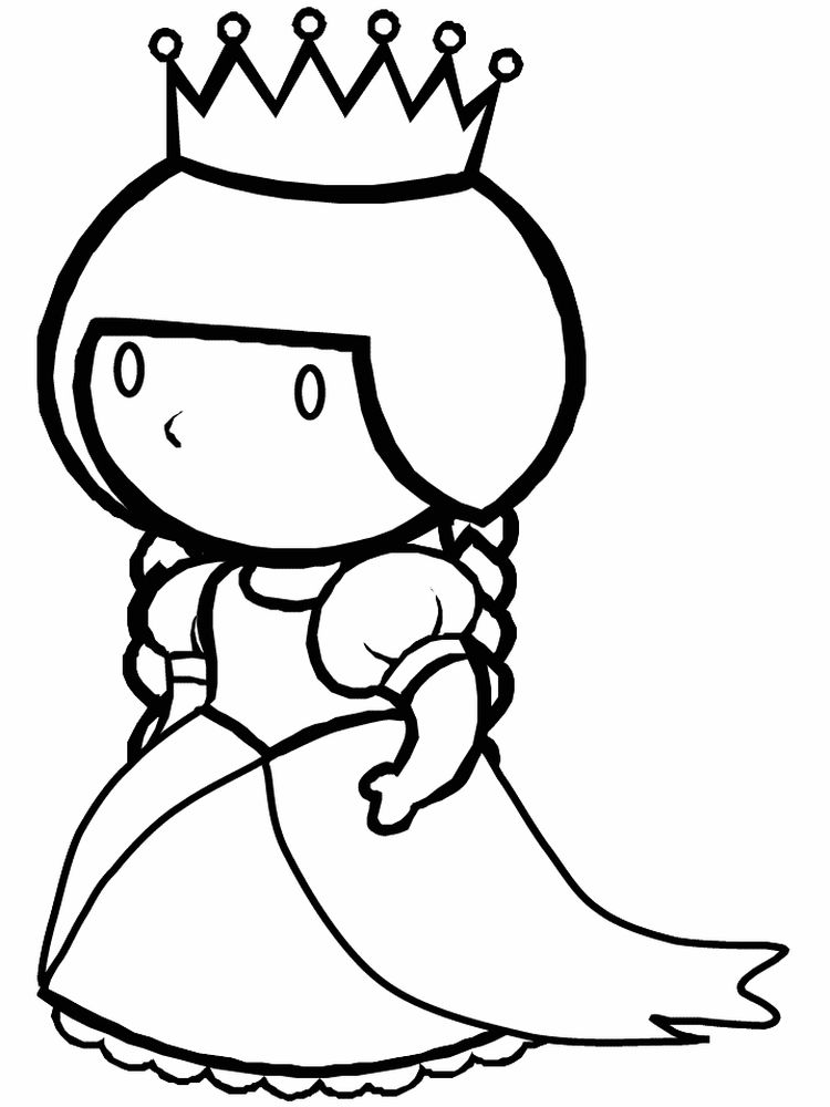 Queen Coloring Pages Print