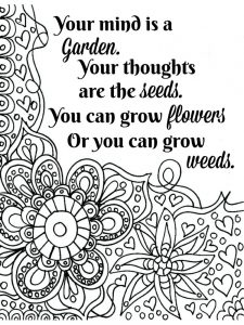 Quote Coloring Pages Download