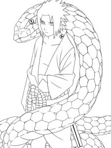 Rattlesnake Coloring Pages