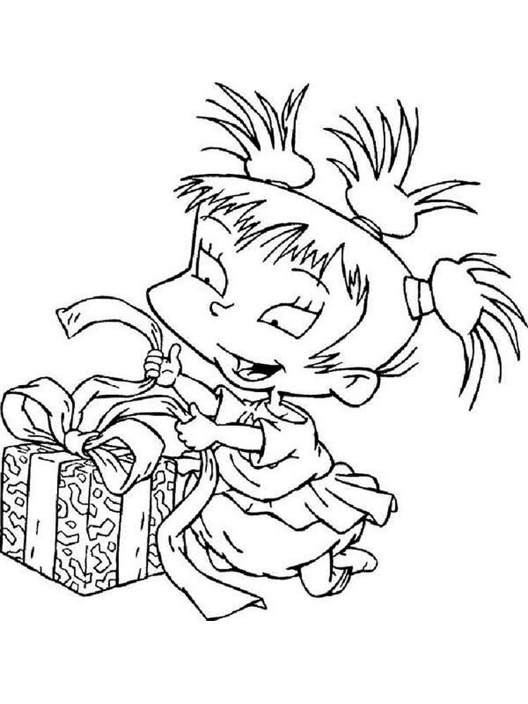 Rugrats Coloring Pages Pdf