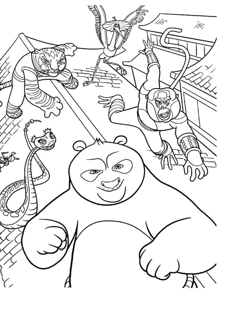 Ryan Combo Panda Coloring Pages