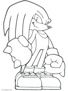 Scourge The Hedgehog Coloring Pages