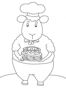 Sheep Colouring Pages Printable