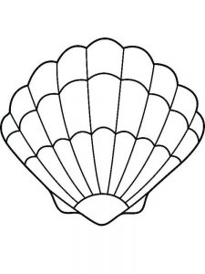 Shell Coloring Pages For Adults