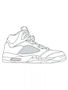 Shoes Coloring Pages Pdf