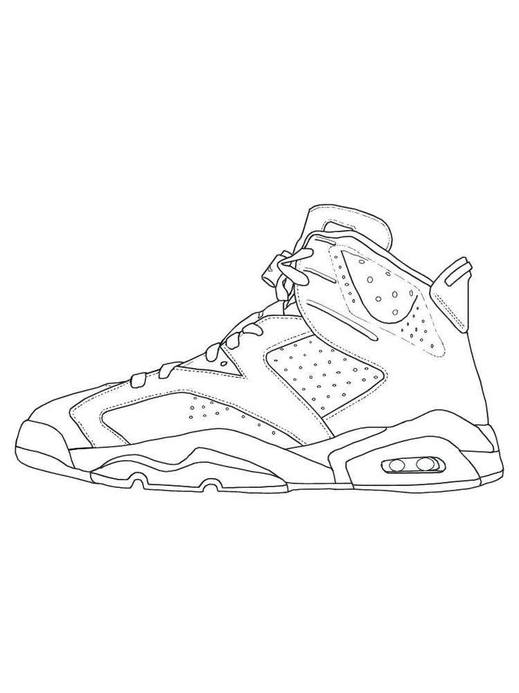 Shoes Coloring Pages Printable