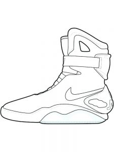 Shoes Colouring Pages Free