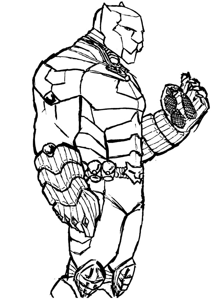 Shuri Black Panther Coloring Pages