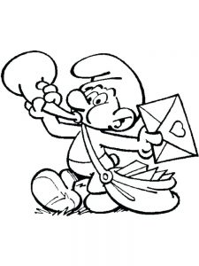 Smurfs Coloring Pages Free