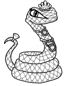 Snake Coloring Pages For Preschoolers