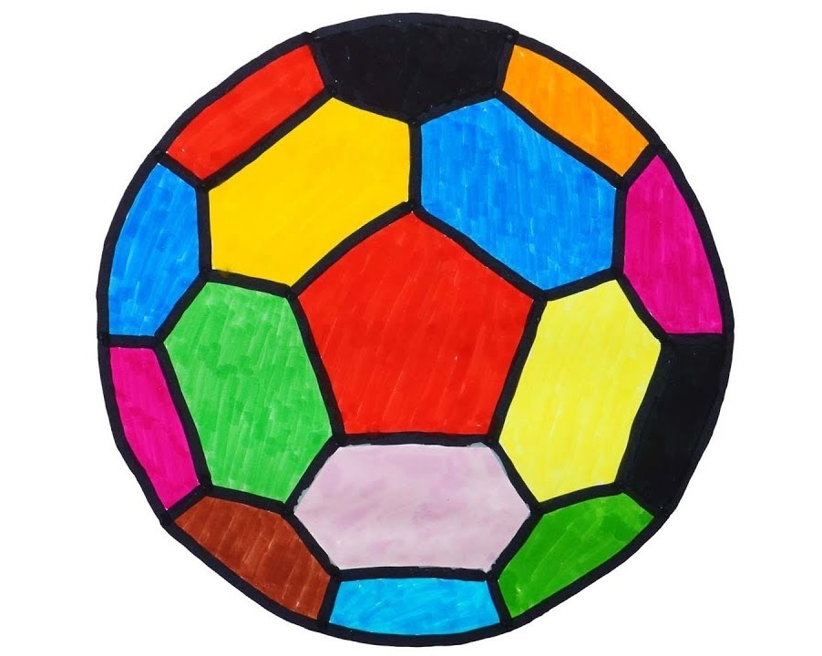 Soccer Ball Coloring Page Pdf