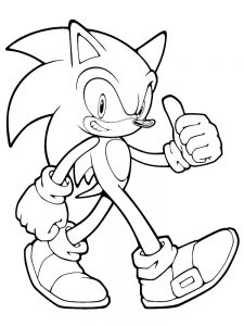 Sonic Coloring Pages Pdf