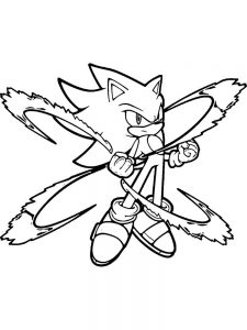 Sonic Coloring Pages Sega
