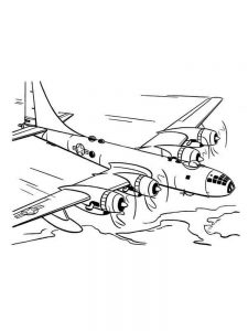 Southwest Airplane Coloring Pages