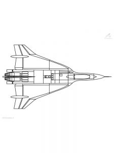 Spirit Airplane Coloring Pages