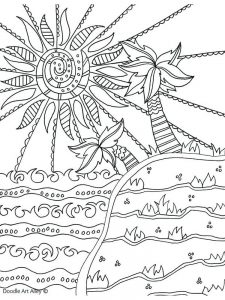 Summer Coloring Sheets Crayola