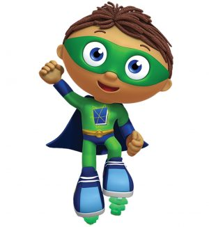 Printable Super Why Coloring Pages