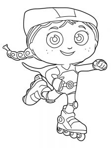 Super Why Coloring Pages Woofster