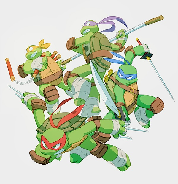 TMNT coloring