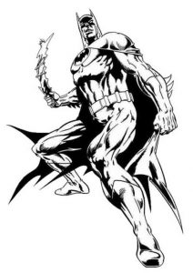 The dark knight rises batman coloring pages