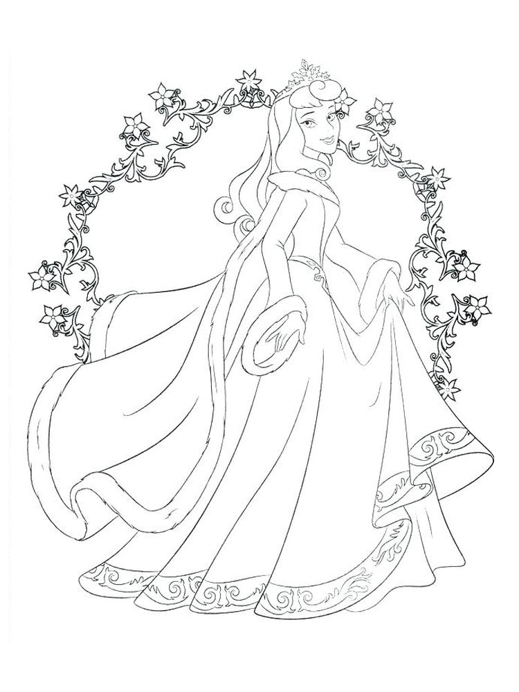Tiana Coloring Pages To Print