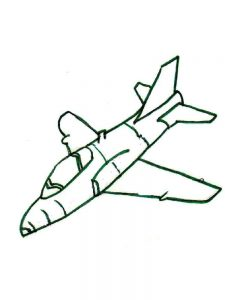 Toy Airplane Coloring Pages 1