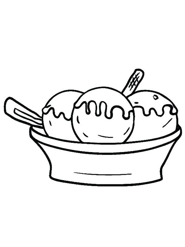 Unicorn Ice Cream Coloring Pages