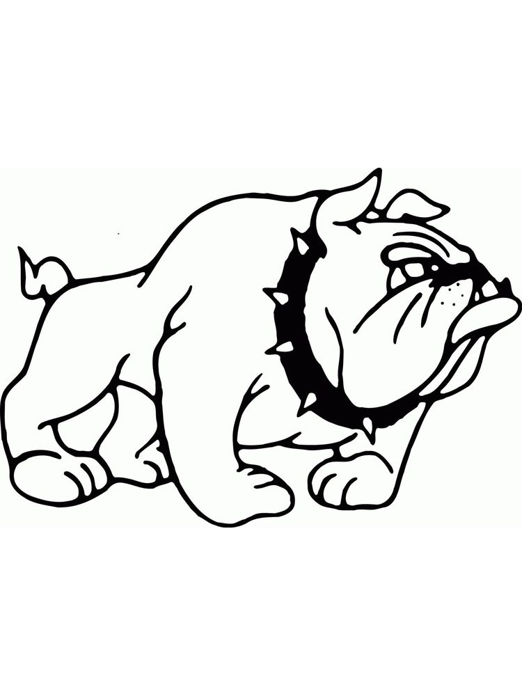 Western Bulldogs Coloring Pages