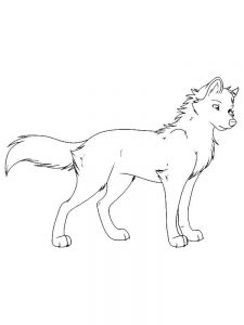 Wolves Coloring Pages For Adults