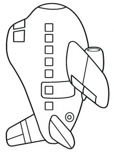 Ww2 Plane Coloring Pages 1