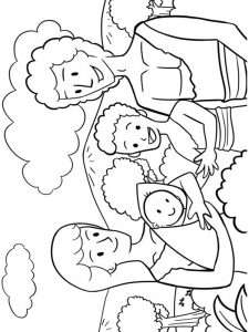 adam and eve free coloring sheets