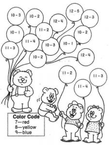 addition coloring pages 3rd grade free