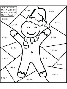 addition coloring pages free