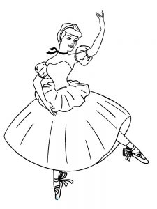 african american ballerina coloring pages