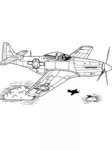 air force airplane coloring pages 1