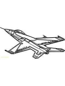 airplane coloring pages for preschool 1