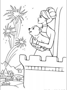 all barbie coloring pages