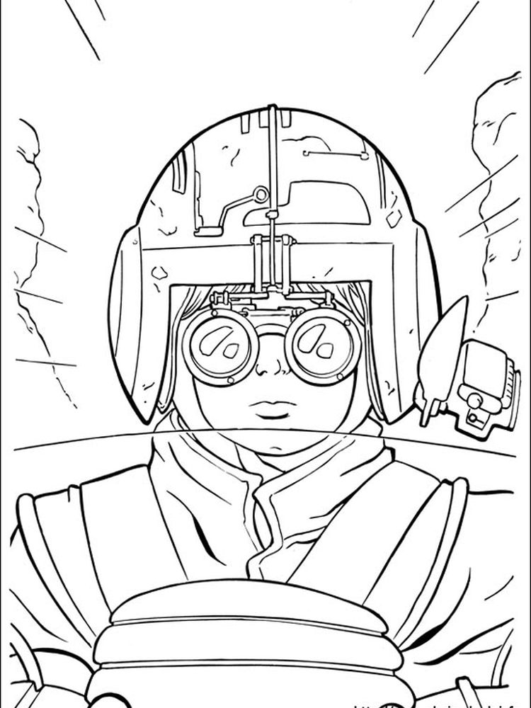 all star wars coloring pages