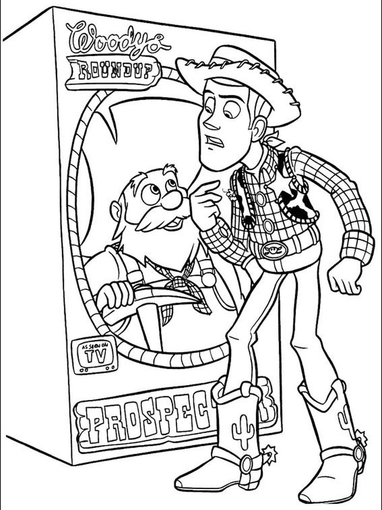 all toy story characters coloring pages