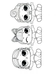 american doll coloring page