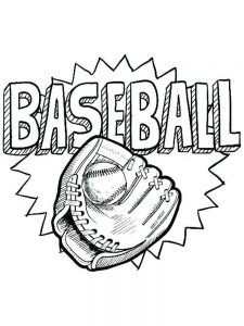 angels baseball coloring page
